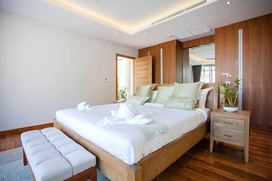 Reenergized bedroom
