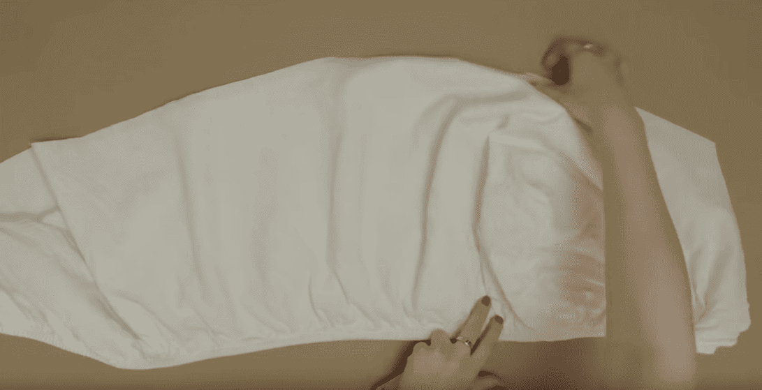 DIY Ghost Costume Out Of A Bed Sheet