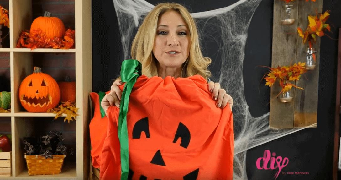 DIY Pumpkin Costume Pillow Case