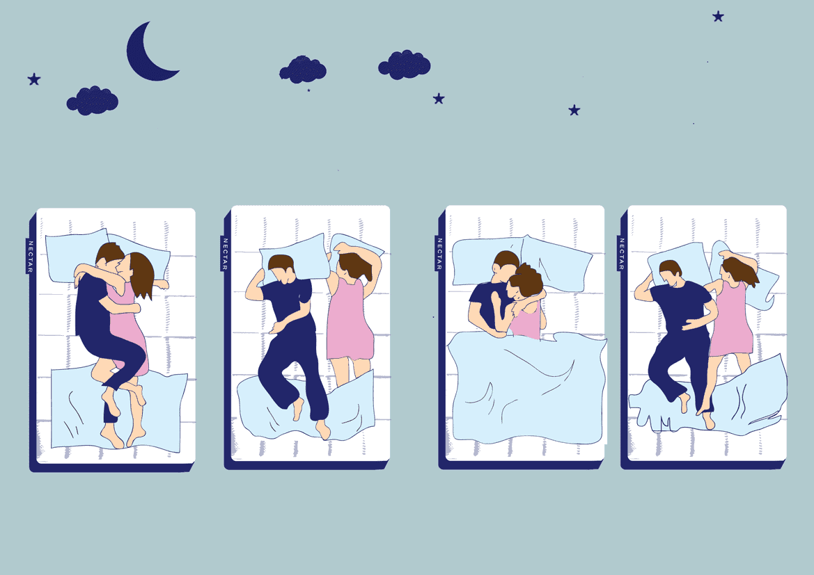 Sleeping Positions And What They Mean