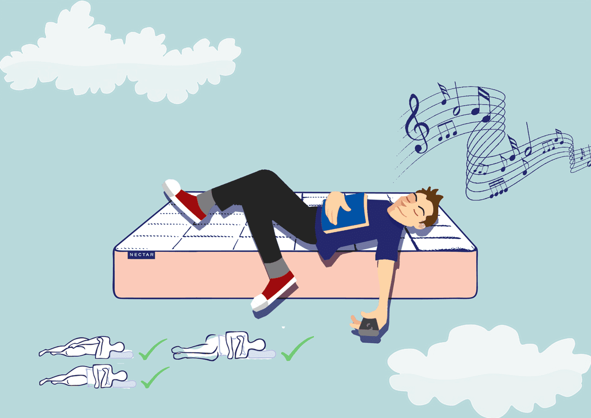 Sleep music illustration