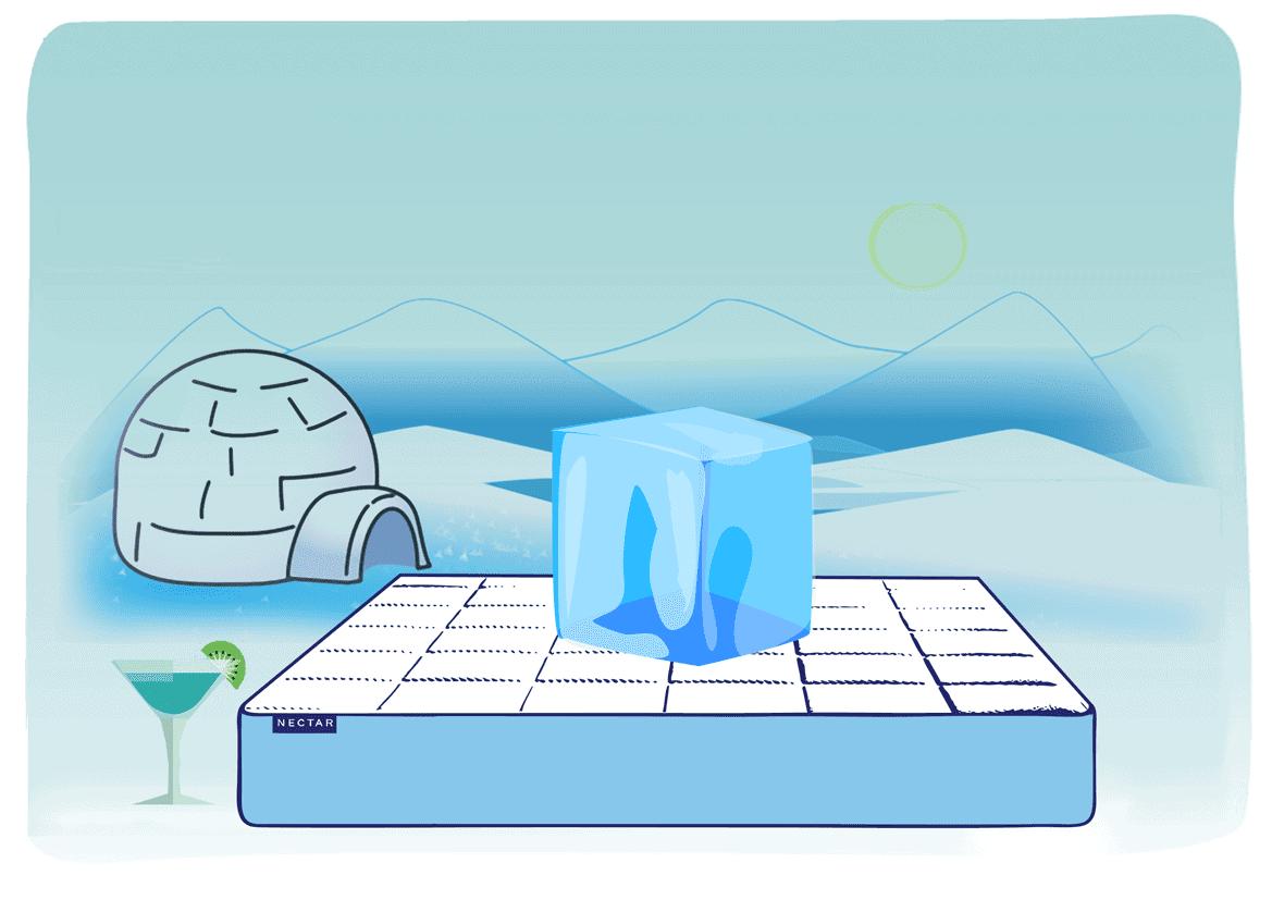 memory-Foam-Mattresses-hot-to-sleep-on