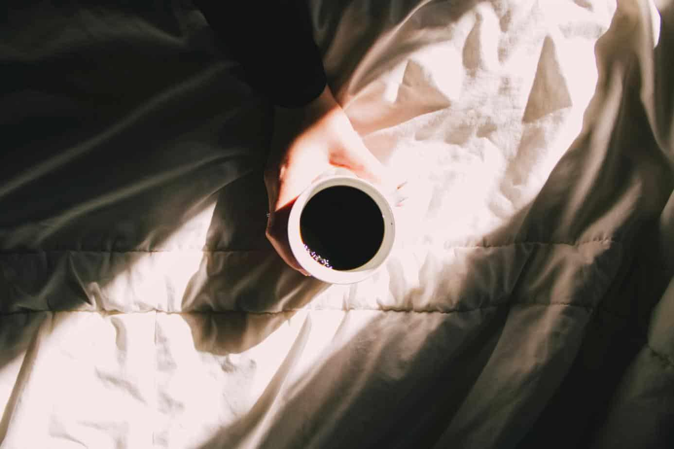 coffee in bed - Nectar Sleep