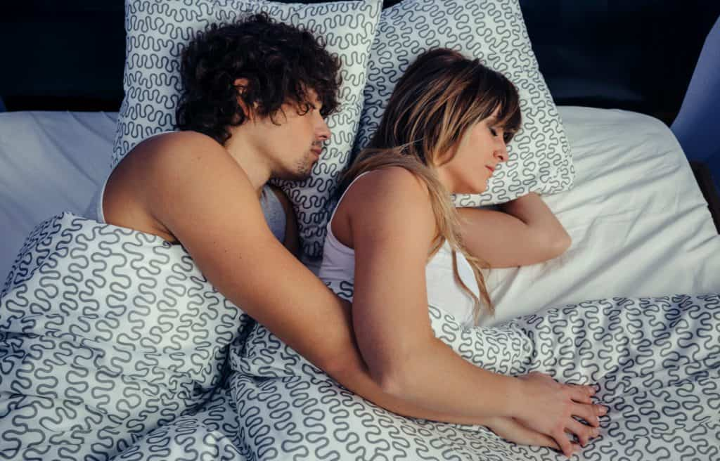 loose spoons couple sleeping styles