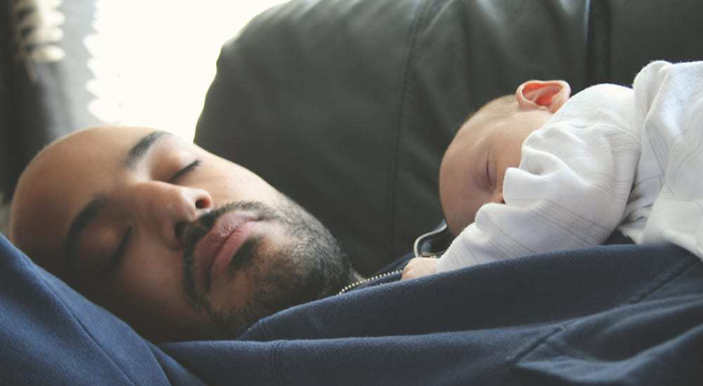 6 Times When Dads Fell Asleep On The Parent Job