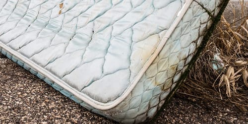 Mattress With Mold