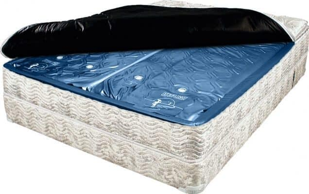 Side of a water bed