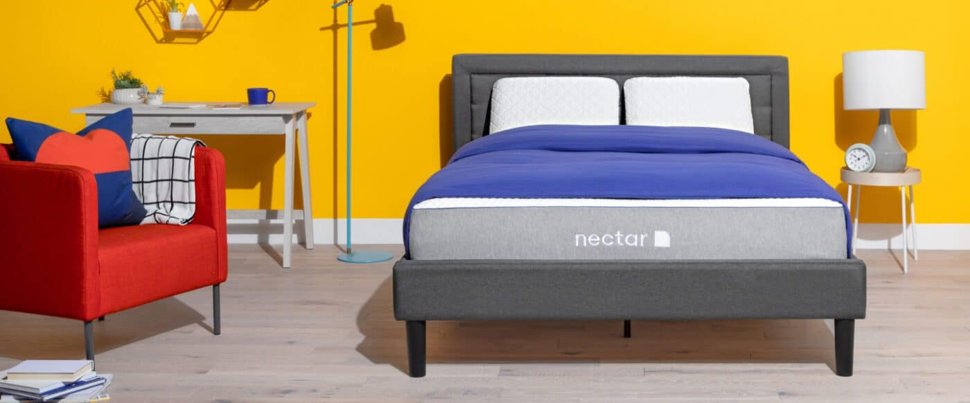 nectar double bed dimensions