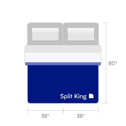 split king mattress size
