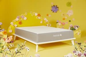 Nectar Bed in beautifully decorated yellow room