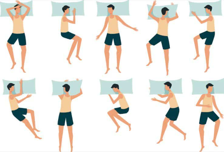 Different Types of Sleep Positions