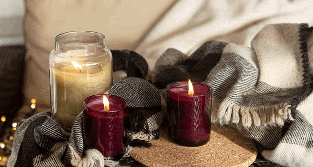Aromatherapy Candles With Essential Oils for Sleep and Anxiety
