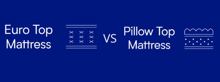 Pillow Top vs Euro Top