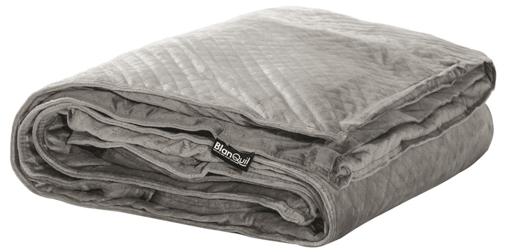Gray Colored Weighted Blanket
